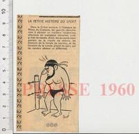 Humour 1960 Sport Lutte En Grèce Lutteur Grec 51H5 - Unclassified