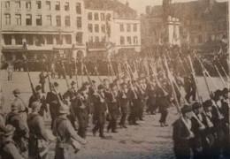 DUNKERQUE Remise De La Médaille Du Service. Défilé Des Troupes Place Jean Bart  1919 - Unclassified