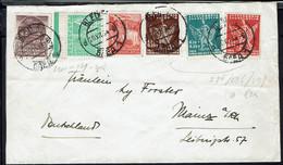 Yougoslavie/Slovénie - Affranchissement Multicolore Varié Sur Enveloppe De Bled 20-VII-34 Pour L'Allemagne - B/TB - - Covers & Documents