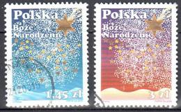Poland  2008 - Christmas - Mi.4401-02 - Used - Usados