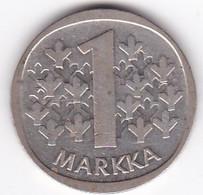 Finlande . 1 Markka 1965 . Argent - Finland