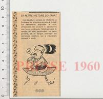 Humour 1960 Sport Jeu De Polo à Cheval En Perse Et Au Tibet Arbitre Sur Un Tapis D'Orient Volant Sifflet 51H5 - Unclassified