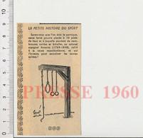 Humour 1960 Sport Portique Gymnastique Anneaux Corde Colonel Espagnol Amoros Entrainement Armée Napoléon Espagne 51H5 - Unclassified