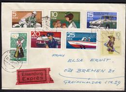 Germany DDR 1970 / Police, Motorcycle, Car, Train, Boat / Vietnam / National Costume - Politie En Rijkswacht