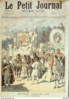 Petit Journal-1896-275-LE BOEUF GRAS, CORTEGE-PALAIS De L'INDUSTRIE - Le Petit Journal