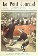 Petit Journal-1899-448-BESANCON(25)TRAMWAY-PARIS AUTEUIL AGRESSION Président - Le Petit Journal
