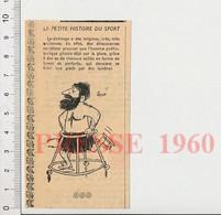 Humour 1960 Sport  Invention Patinage Sur Glace à La Préhistoire Homme Préhistorique Youpala à Patins 51H5 - Unclassified