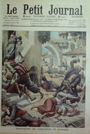 Petit Journal-1909-963-TURQUIE MASSACRE-CUIRASSE ASSAR TEWFICK-GAMBETTA - Le Petit Journal
