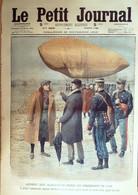 Petit Journal-1910-1044-ROYAUME UNI LLANDUDNO-AERONAUTE ANGLAIS WILLOWS - Le Petit Journal
