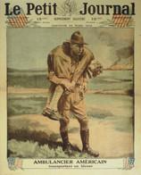 Petit Journal-1918-1423-AMBULANCIER AMERICAIN-Photos - Le Petit Journal