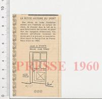 Humour 1960 Sport Origine Du Racing Club De France Lycée Condorcet Paris Gare Saint-Lazare Athlétisme Course à Pied51H5 - Unclassified