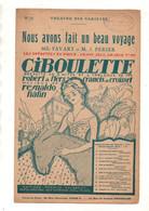 Partition Nous Avons Fait Un Beau Voyage Duo De L'opérette En 3 Actes Ciboulette Livret De Robert De Flers En 1923 - Scores & Partitions
