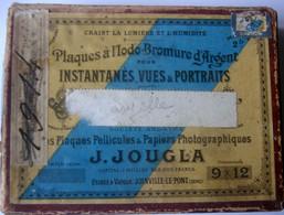 Boite De 17 Photos Plaque De Verre 1914, 9X12 - Glass Slides