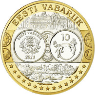 Estonia, Médaille, Euro, Europa, FDC, Argent - Other