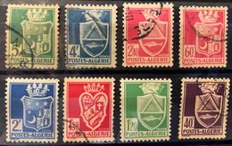 ALGERIA - M/U  - 1942-1943 -  # 175/183 - Algeria (1962-...)