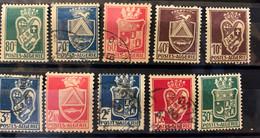 ALGERIA - M/U  - 1942-1945  -  # 180/193 - Algeria (1962-...)