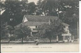 102 - CONAKRY - LE SERVICE DU PORT  ( Animées ) - French Guinea