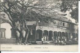 111 - CONAKRY - LA POSTE  ( Animées ) - French Guinea