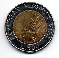 San Marin 500 Lires 1993 R TTB - San Marino