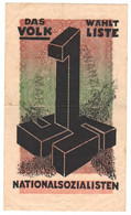 WW2 Germany Propaganda FORGERY Overprint On Genuine 20,000 Mark 1923 Banknote VF - Other