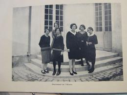 1931 MEHUN SUR YEVRE Livret Ecole De Filles Du Château Et Cours Complémentaires Le Personnel Et Photos De Classe - Mehun-sur-Yèvre