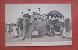 Maharaja's Elephant Chariot   India  Ref 4843 - India