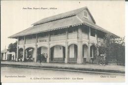 5 -  DIMBOKRO - LA GARE  ( Animées  ) - Ivory Coast