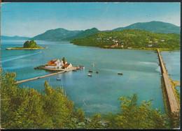 °°° 26721 - GREECE - CORFU - ULYSSES ISLAND AND VLACHERNES MONASTERY - 1975 With Stamps °°° - Greece