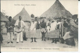 7 - DABAKALA - TAM-TAM DJIMINIS  ( Animées  ) - Ivory Coast