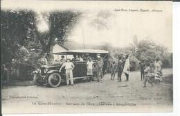 12 - SERVICE DE CARS - ARRIVEE A BINGERVILLE  ( Animées  ) - Ivory Coast