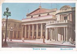 Montevideo - Teatro Solis Viaggiata 1957 - Uruguay