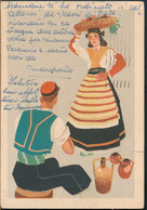 °°° 26722 - GREECE - CORFU - COSTUMI ADRIATICI - 1942 With Stamps °°° - Greece
