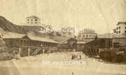 BIARRITZ Vers 1855-1860 Les Cabines Pour Le Bain Pyrénées-Atlantiques RARE ! - Places