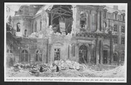 1948  --  BIBLIOTHEQUE MUNICIPALE DE CAEN EVENTREE . 3V324 - Unclassified