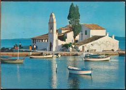 °°° 26724 - GREECE - CORFU - IL MONASTERO DI VLACHERNA - 1972 With Stamps °°° - Greece