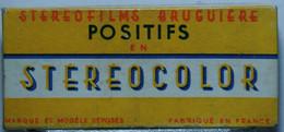 BRUGUIÈRE  STÉRÉOCOLOR  :  5062     CHAMONIX 4  SPORTS D'HIVER - Stereoscopes - Side-by-side Viewers