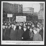 1948  --  ALLEMAGNE ESSEN MANIFESTATION D OUVRIERS . 3V326 - Unclassified