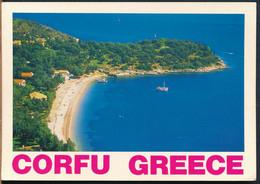 °°° 26725 - GREECE - CORFU - 1990 With Stamps °°° - Greece
