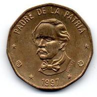 République Dominicaine 1 Peso 1997 SUP - Dominicana