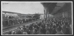 1948  --  EN GARE DE DIJON EN ATTENDANT LE TRAIN DE L AMITIE . 3V329 - Unclassified