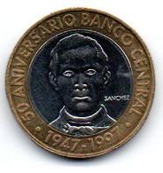 République Dominicaine  5 Pesos 1997 SUP - Dominicana