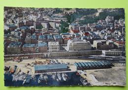 """ALGÉRIE - Alger - Nouvelle Mairie , Préfecture , """"les Tagarins"""" - Port Bateaux - CPA Carte Postale Ancienne - Vers 1950 - Algiers"""
