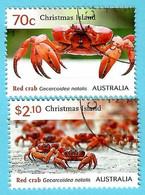 Australien / Christmas Island 2014 , Red Crab's - CTO Gestempelt / Fine Used / (o) - Christmas Island