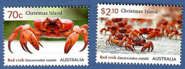 Australien / Christmas Island 2014 , Red Crab's - Postfrisch / MNH / (**) - Christmas Island