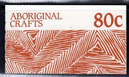 AUSTRALIA - 1987 ABORIGINAL CRAFTS 80c BOOKLET FINE MNH ** SG SB57 - Booklets