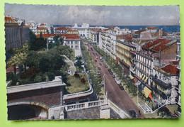 ALGÉRIE - Alger - Facultés Rue Michelet La Poste -Tunnel Voiture Vélo Magasin - CPA Carte Postale Ancienne - Vers 1950 - Algiers
