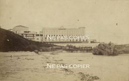 BIARRITZ Vers 1855-1860 Le Premier Casino Pyrénées-Atlantiques Photo Azparren RARE ! - Places