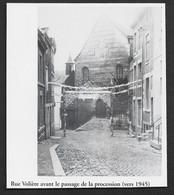 2001  --  LIEGE  RUE VOLIERE AVANT LE PASSAGE DE LA PROCESSION VERS 1945 . 3V333 - Unclassified