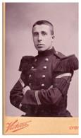 CDV    MILITAIRE   PH. VICTOIRE LYON MAISON FONDEE EN 1850 6 MEDAILLES D'OR -EXPOSITION DE LYON - War, Military