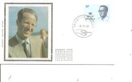 Belgique - Roi Baudouin  ( FDC De 1981 à Voir) - 1981-90